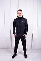Спортивный костюм Under Armour черный. Двунить, фото 1