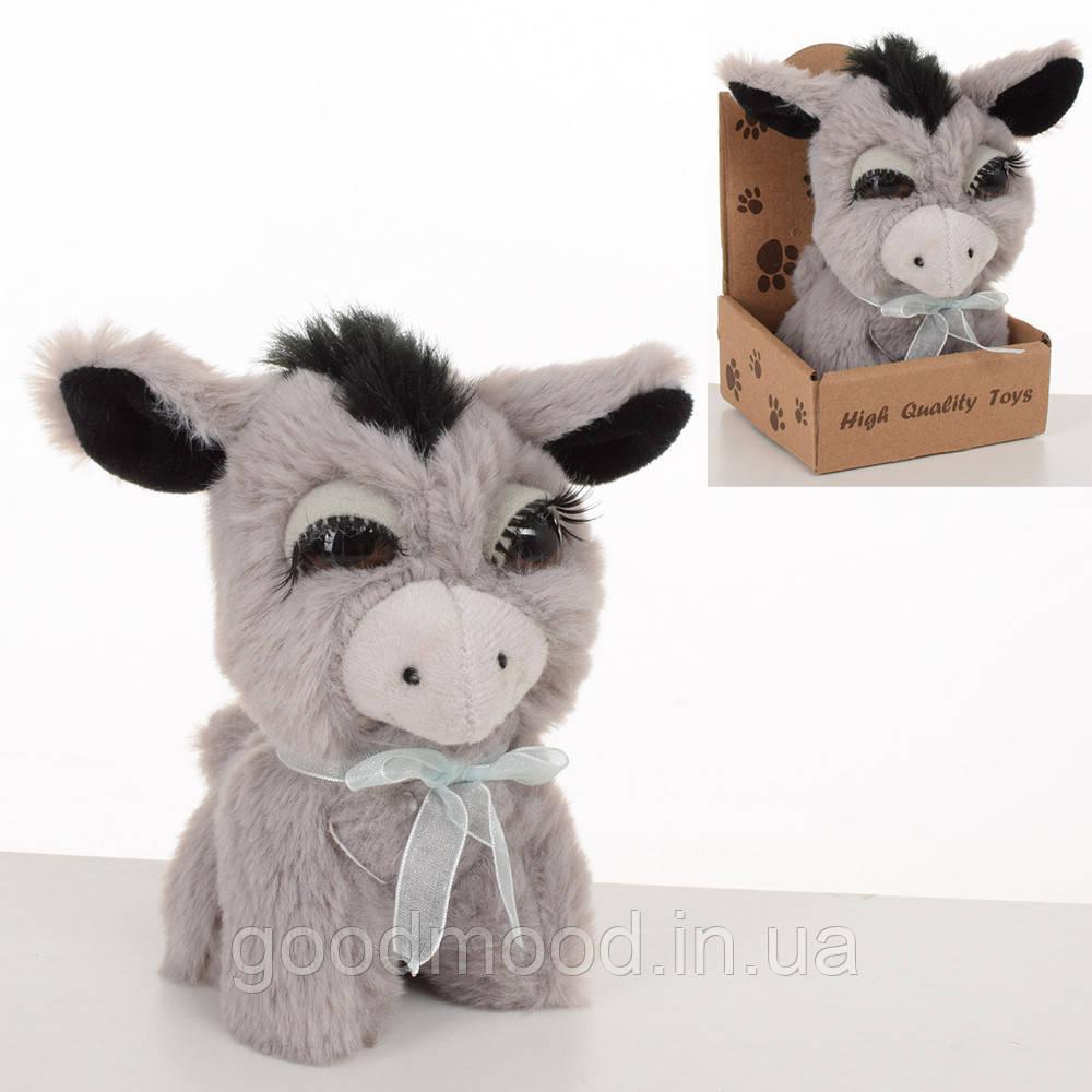 М'яка іграшка MET10098 ослик, 13 см., кор.