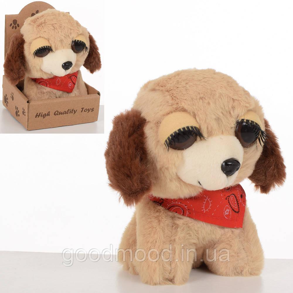 М'яка іграшка MET10104 собачка, 12 см., кор.