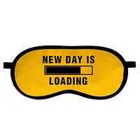 Маска для сна, New day is loading (MDS_19M018)