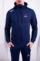 Спортивный костюм Reebok UFC темно-синий. Двунить, фото 1