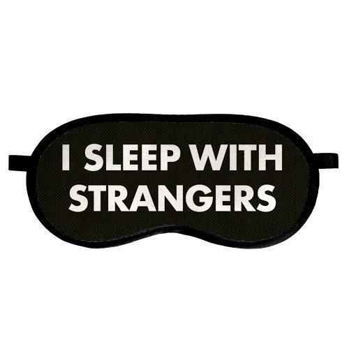 Маска для сна, I sleep with strangers (MDS_19M007)