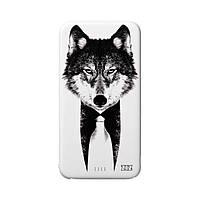 """Повербанк, Power bank, Внешний аккумулятор """"Волк"""" 5000mah  (44001)"""