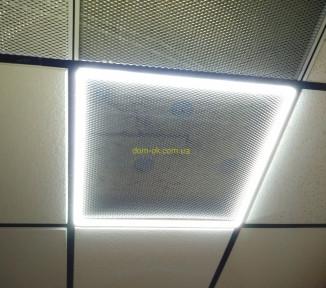 Светодиодная светильник рамка LED 600х600мм  48вт 6500К