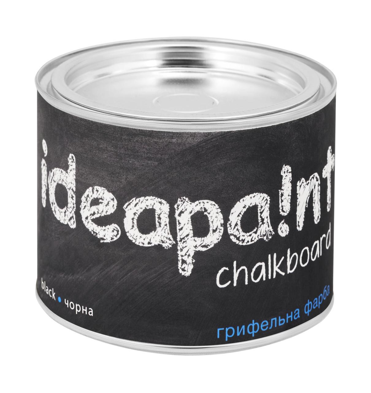 Грифельная краска Ideapaint черная 0.5л