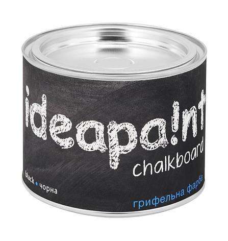 Грифельная краска Ideapaint черная 0.5л, фото 2