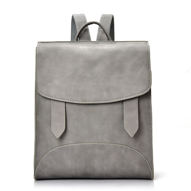 acbaf8f1161a Рюкзак женский городской с хлястиками (серый): продажа, цена в ...