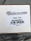 Комплект накладок на педали Audi A1 8X 2014> Audi A3 8V 2013> АКПП 8v1064205a, фото 5