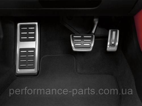 Комплект накладок на педали Audi A1 8X 2014> Audi A3 8V 2013> АКПП 8v1064205a