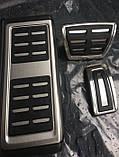 Комплект накладок на педали Audi A1 8X 2014> Audi A3 8V 2013> АКПП 8v1064205a, фото 2