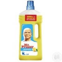 Средство Mr.Proper Лимон для мытья полов и стен 1500мл