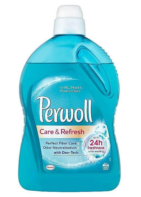 Гель для делікатного прання Perwoll Care & Refresh 2,7 л