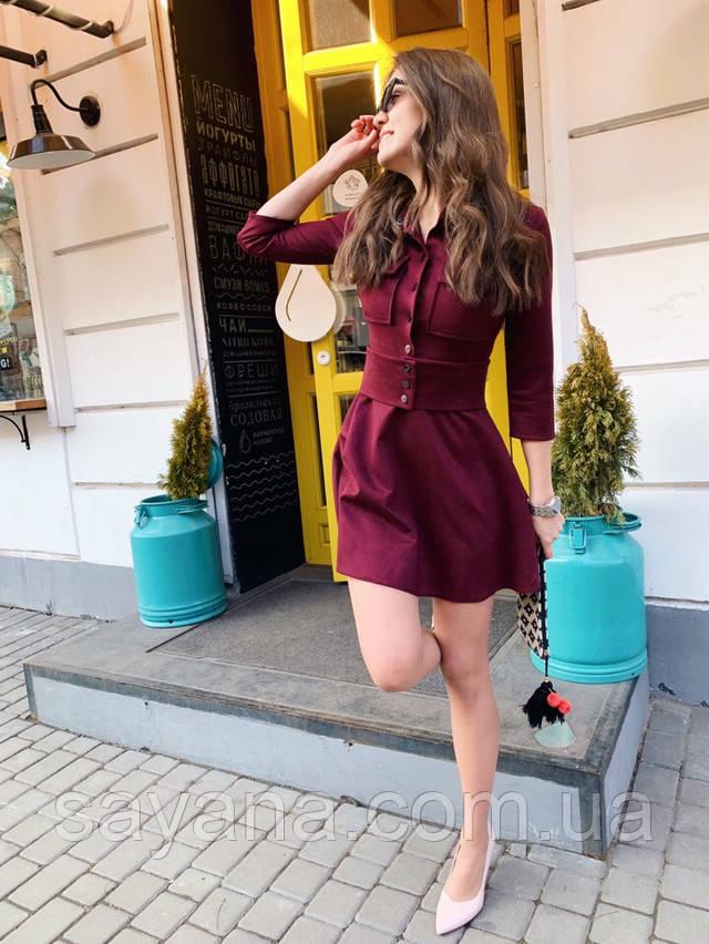 женское платье мини оптом