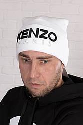 Мужская шапка Kenzo Paris, белая