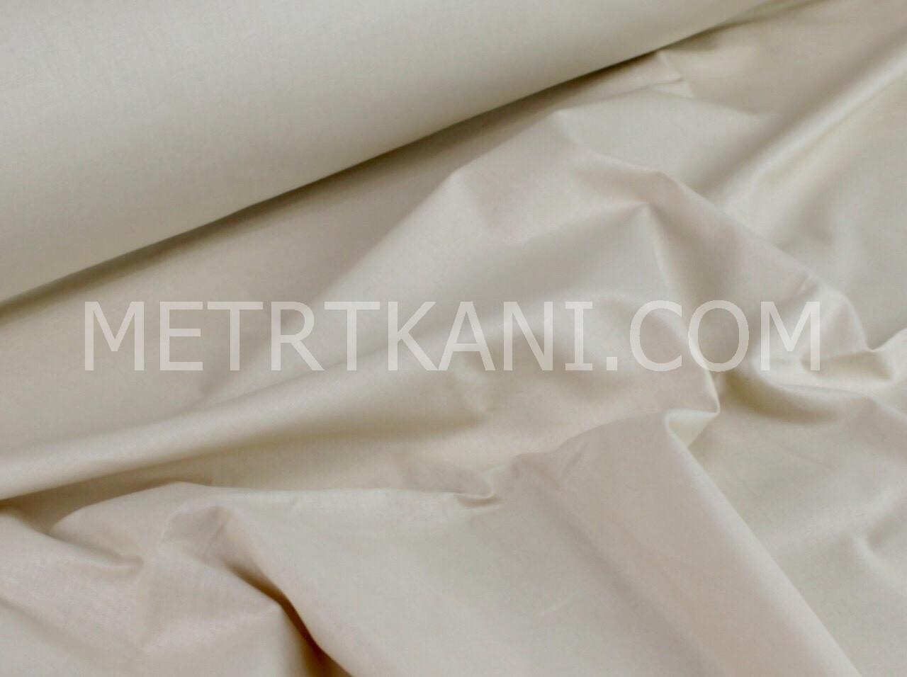 Однотонная польская светло-бежевого цвета 135г/м2 №372