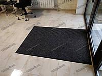 Грязезащитный ковер 150х200см Рубчик-9 черный