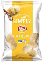Чипсы Lay's Simply Sea Salted