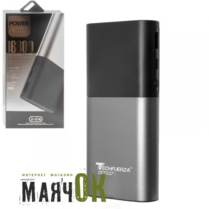 Power Bank TECHFUERZA Z-076, 16800mAh