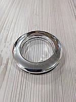 Люверсы для штор серебро, глянцевый Andre, упаковка 50 шт