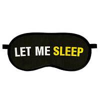 """Маска для сна """"Let me sleep"""""""
