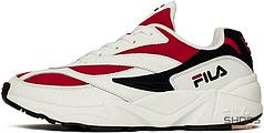 Женские кроссовки Fila Venom Low 1010255-150 White/Red, Фила веном