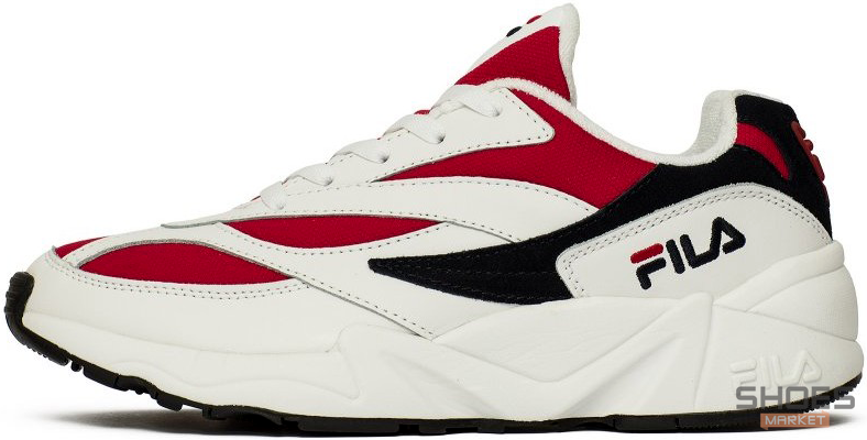 Мужские кроссовки Fila Venom Low 1010255-150 White/Red, Фила веном