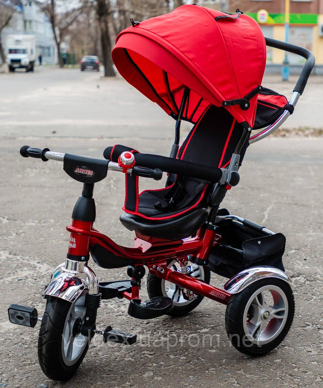 Велосипед Ardis Maxi Trike 002 с амортизатором красный