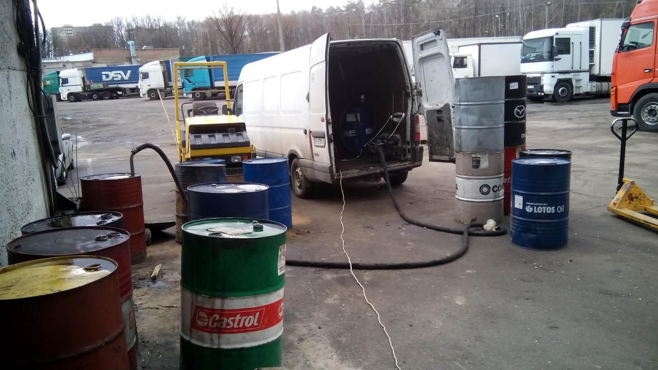 Сбор отработанных нефтепродуктов и Утилизация масел