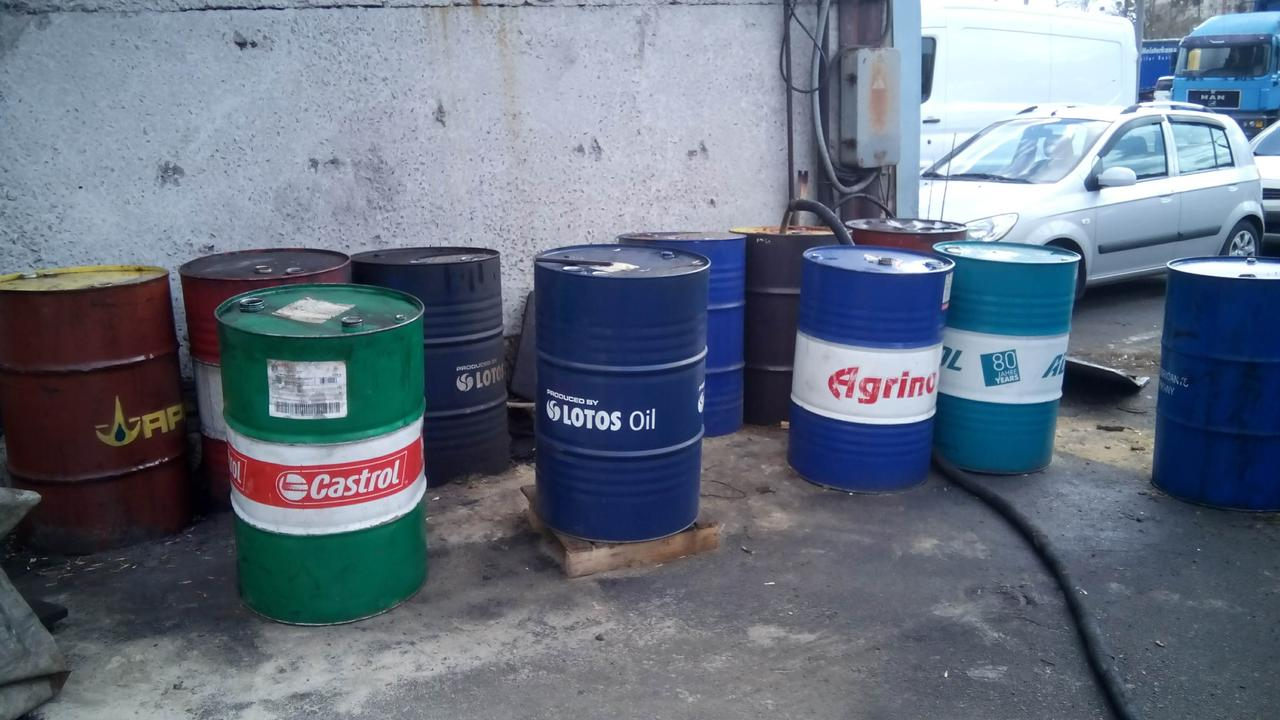 .Отработанное масло (отработка) - вывоз и утилизация в Киеве,