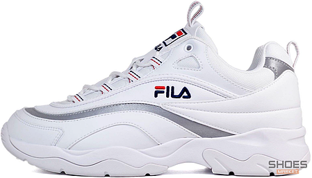 Женские кроссовки Fila Ray FS1SIA11-65X White/Grey, Фила Рей, фото 2