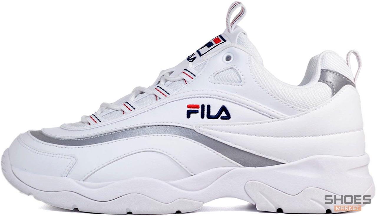 Женские кроссовки Fila Ray FS1SIA11-65X White/Grey, Фила Рей