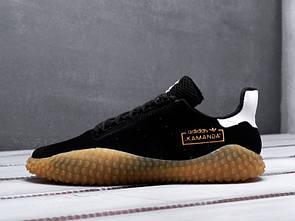 Мужские кроссовки в стиле Adidas x CPCompany Kamanda, черные 41 (26 см)