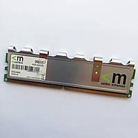 Игровая оперативная память Mushkin DDR2 2Gb 800MHz PC2 6400U CL5 (996557) Б/У