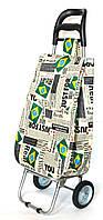 Хозяйственная сумка тележка Xiamen с железными колесами Shoping Brazil (0092), фото 1