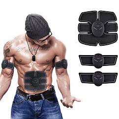 Пояс-міостимулятор EMS Trainer 3 в 1 для м'язів преса і рук Smart Fitness Trainer