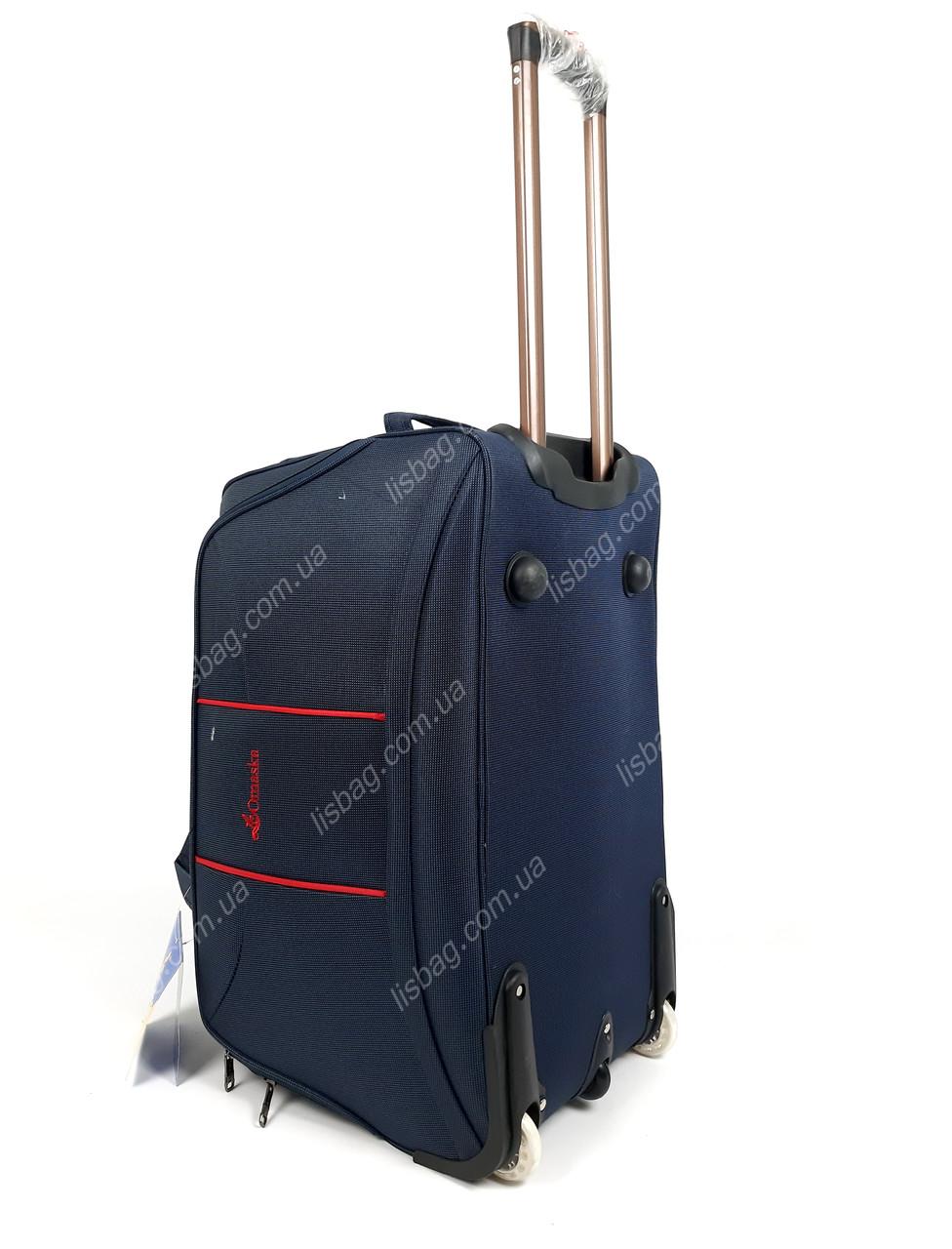 e0b8fe2ec8cc Велика сумка на 3х колесах Omaska прочная L (80 л) Синяя (64*34*38 ...