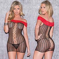 Сетка-платье / Эротическое белье / Сексуальное белье , фото 1