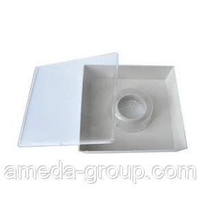 Кормушка квадратная с 1-м стаканом 1.8л, фото 2