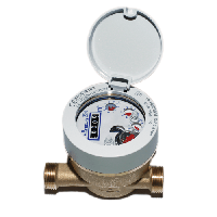 Счетчик воды одноструйный мокроход 820 Q3 2,5 DN 15