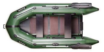 Надувная моторная лодка BARK ВТ-270 Доставка бесплатно!