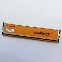 Оперативная память Crucial Ballistix DDR2 2Gb 800MHz PC2 6400U CL4 (BL25664AA80A.16FE5) Б/У, фото 1