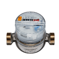Счетчик воды крыльчатый одноструйный Residia Jet Q3 4,0/50 (90) DN20