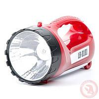 Аккумуляторный фонарь 1 LED 5W+15 LED INTERTOOL LB-0101