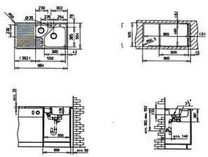 Кухонная мойка Teka TRION 60 B, фото 2