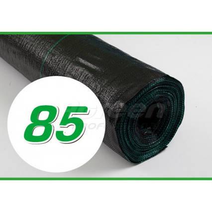Агротканина Agreen 85, чорна, 3,2 х 100 м в рулоні