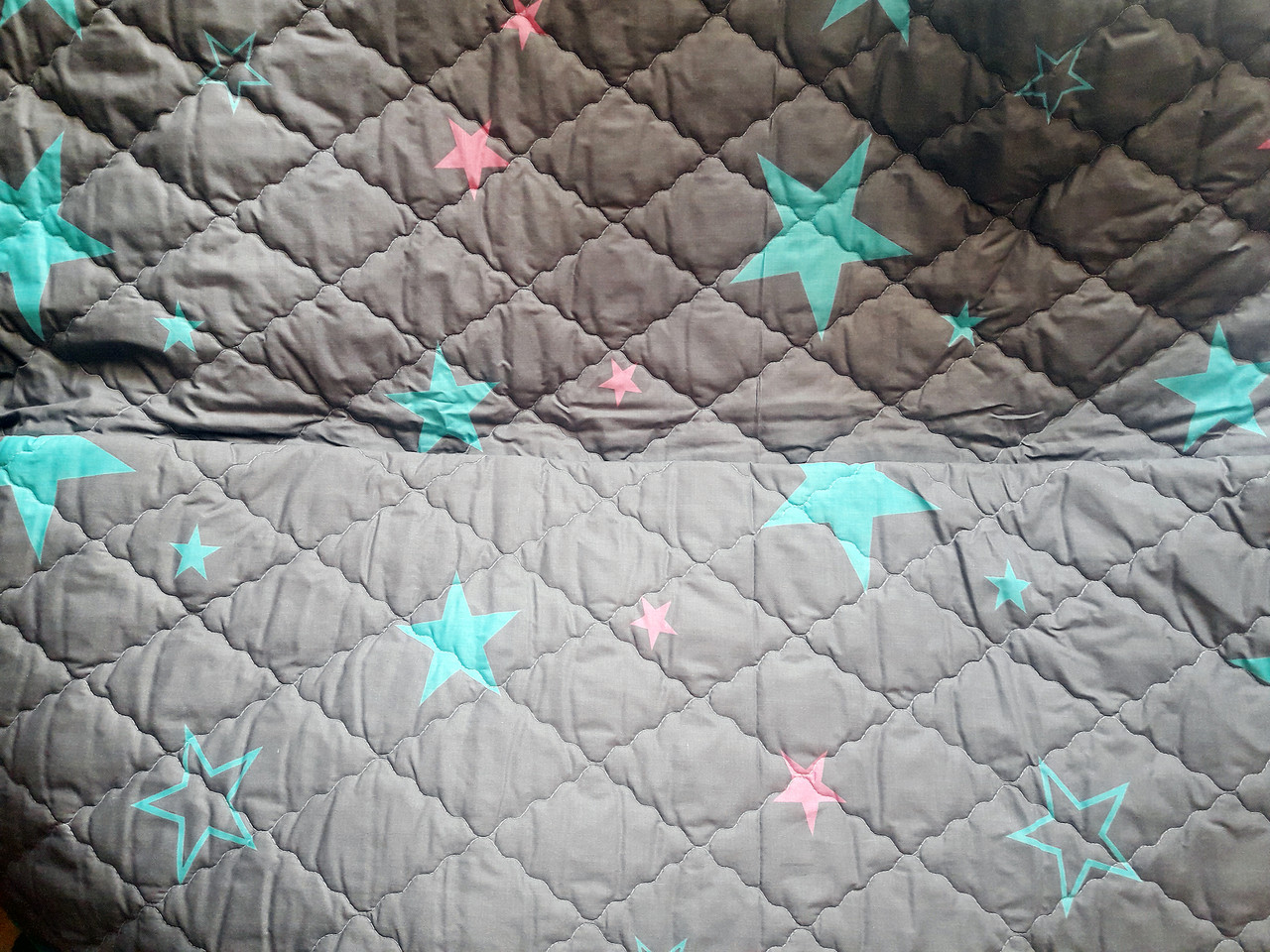"""Облегченное стеганое одеяло """"Dark Stars"""" - 172х205"""