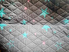 """Летнее стеганое одеяло """"Dark Stars"""" - 172х205"""