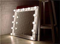 Зеркало с подсветкой Глос 13 ламп, для дома, салона красоты, магазина