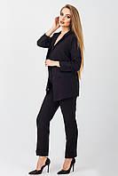 Черный деловой женский костюм