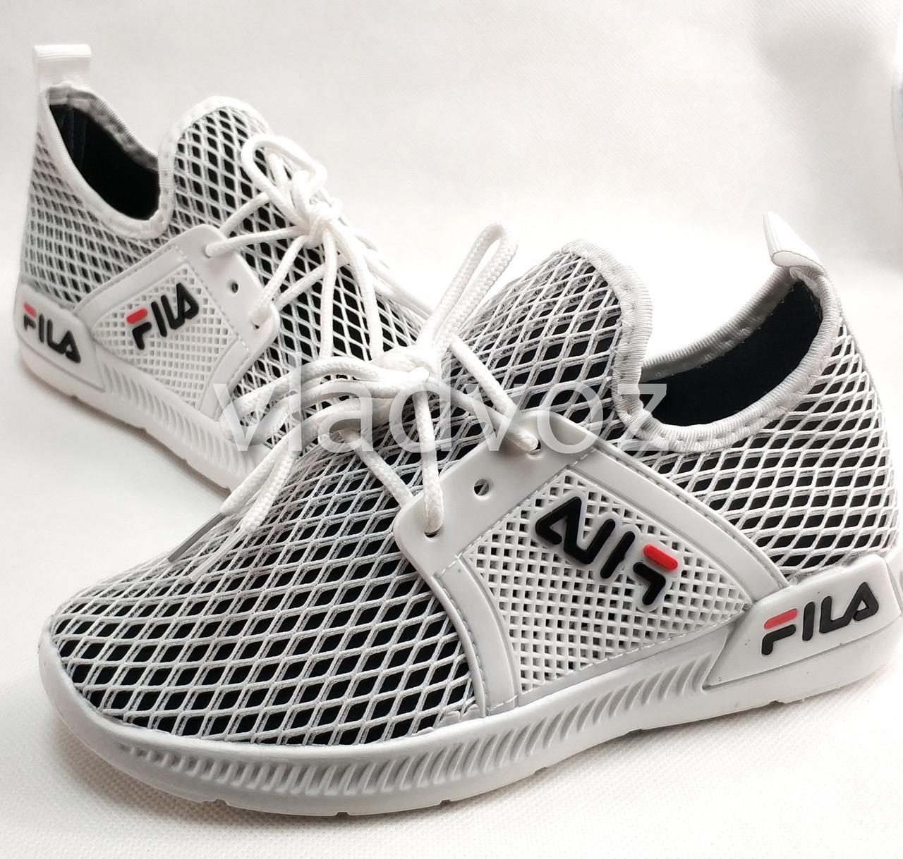 Детские кроссовки для девочки белые